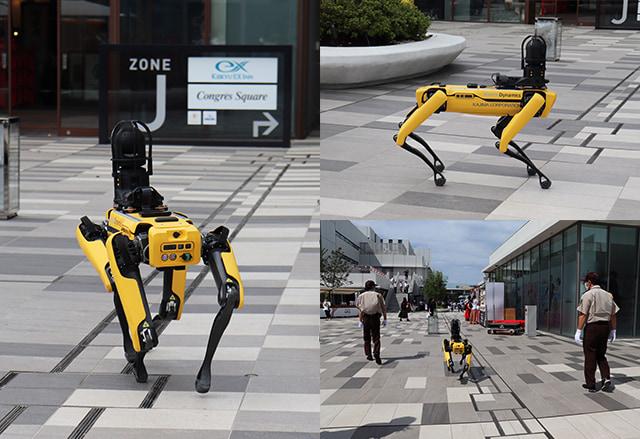 보행 로봇견 'SPOT'