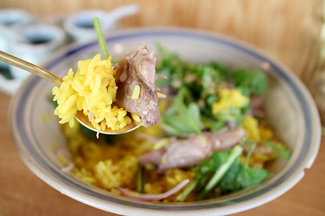 越南風鴨肉飯(チキンライス鴨肉仕立て)