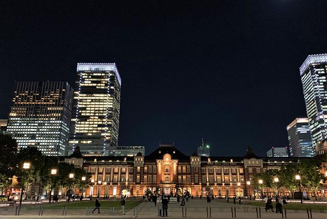 도쿄역 전경