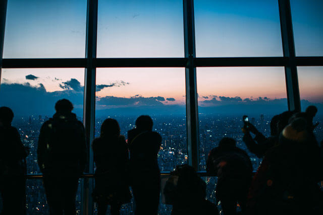東京晴空塔暸望台