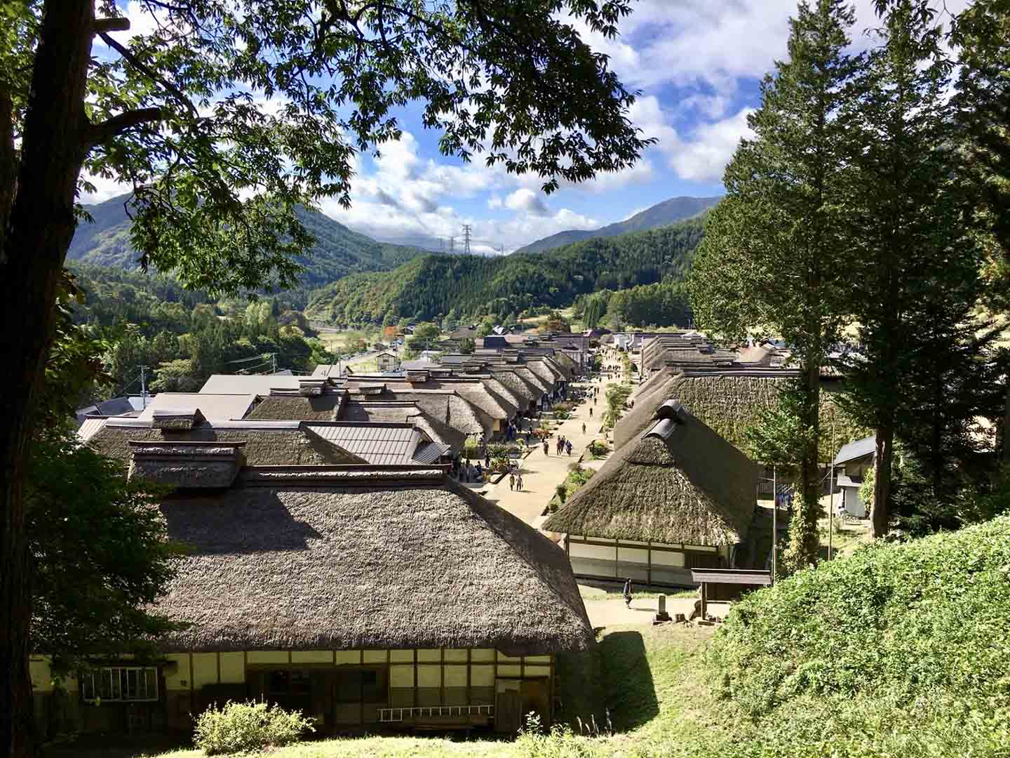Discover Ouchi-juku with the JR East Pass