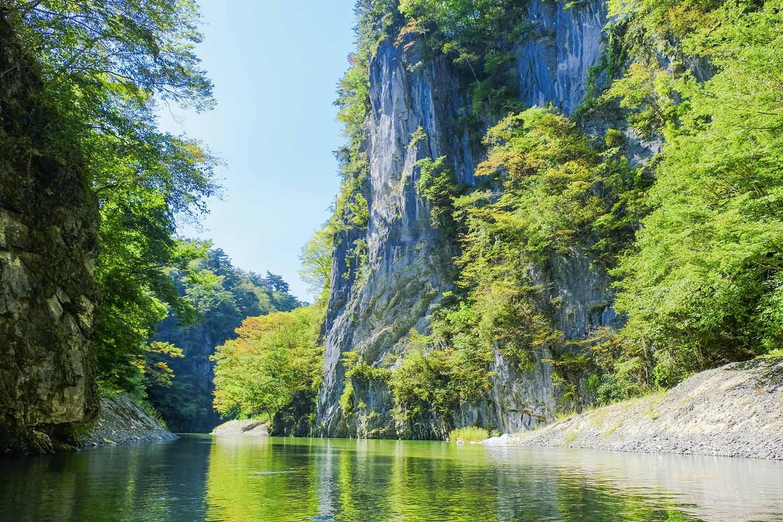 Discover Geibikei Gorge with the JR East Pass (Tohoku Area)