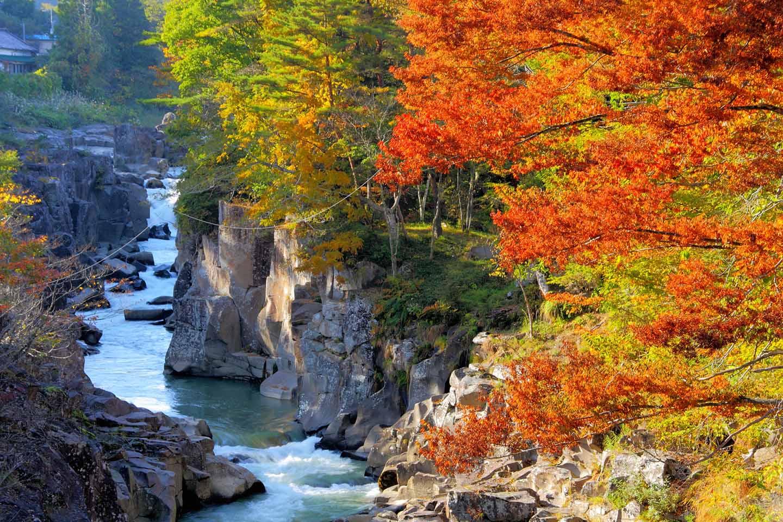 Discover Genbikei Gorge with the JR East Pass (Tohoku Area)