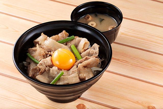 あつぎ豚のパワフルご飯 980円(税込)