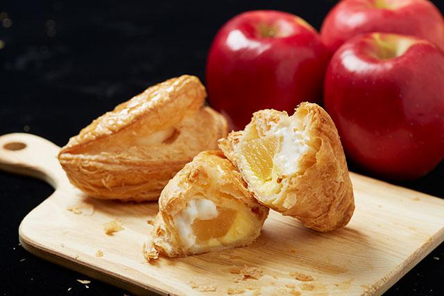 大きいリンゴがゴロっと入った食べ応え抜群のスイーツです