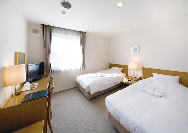 ホテル客室 この他に和室も用意されています