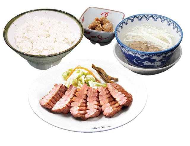 「牛たん極定食」2,508円(税込)