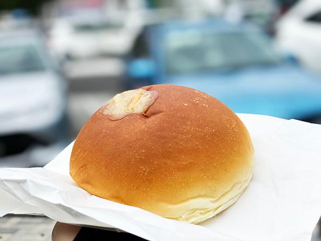 とろけるピーナッツクリームパン