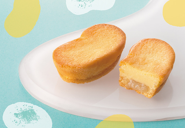 「東京ばな奈チーズケーキ、「見ぃつけたっ」」も販売中 4個入 540円(税込)