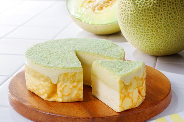 「ミルクチーズケーキ メロン」 2376円(税込)