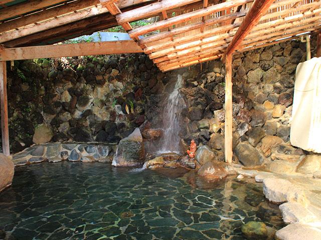 かっぱ天国の露天風呂