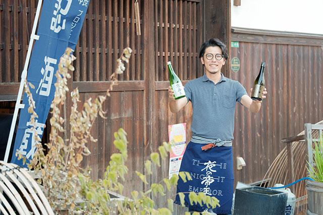 6代目の若き跡取り「藤井義大」さん、英語が堪能なので海外のお客様もご案内できます
