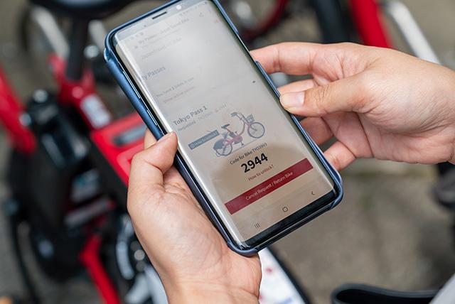 結帳成功後會以mail通知腳踏車編號與密碼
