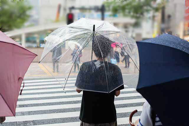 Umbrellas and Raincoats