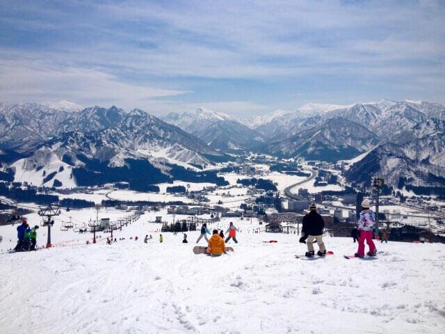 홋카이도의 겨울