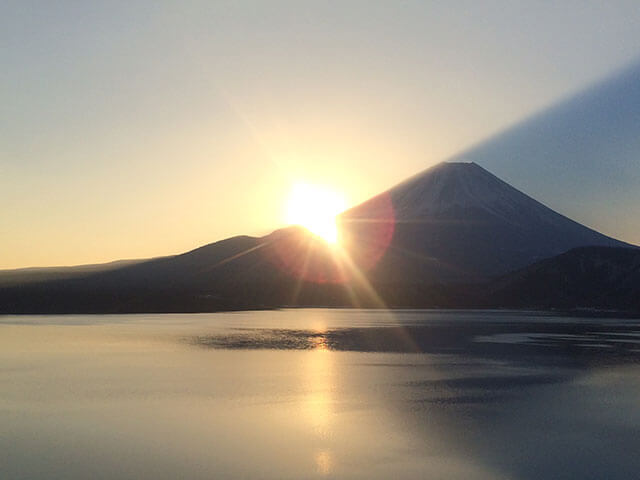 The First Sunrise of Mt. Fuji