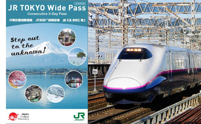 Affordable travel in Kanto with the JR TOKYO Wide PASS