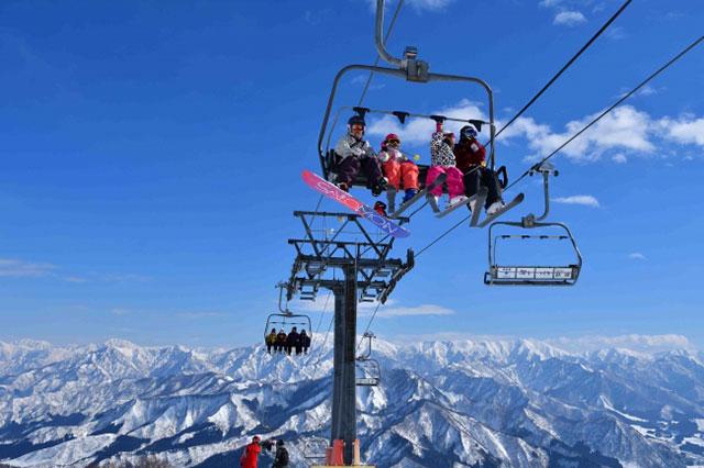 GALA유자와 스키장