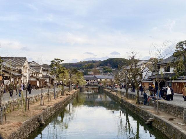 岡山倉敷美觀地區