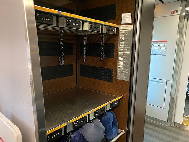 Inside a N'EX cabins