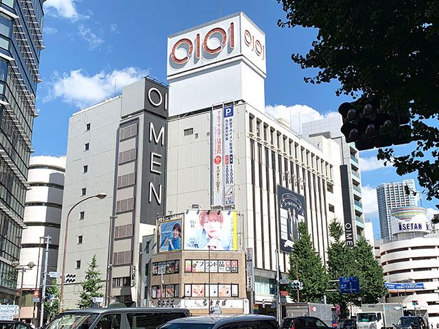 「新宿丸井MEN」外觀