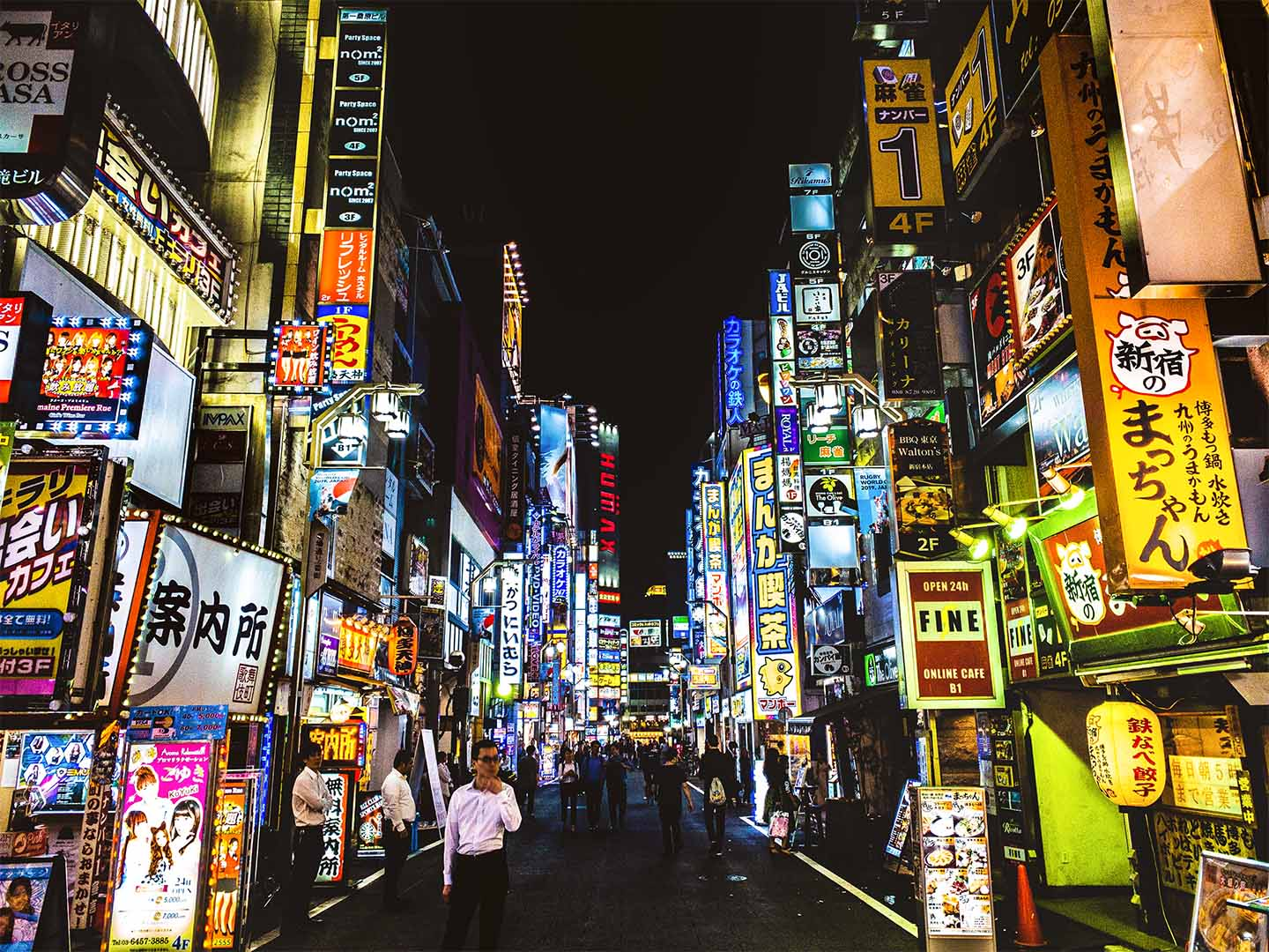Public Safety in Japan: Tokyo Red-light Districts