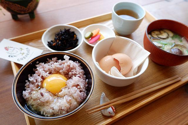 卵かけご飯平飼い卵 820円(税込)