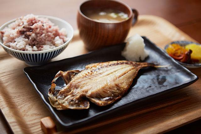 干物定食 650円(税込)