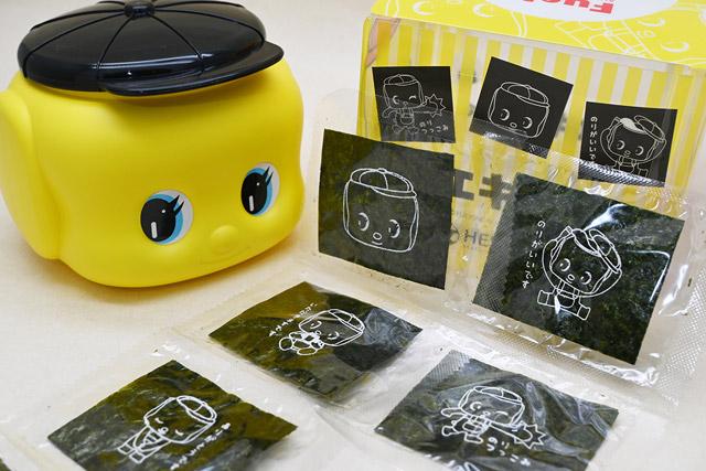 「フエキ海苔」24枚入(全6種類のプリント柄) 1000円(税抜)