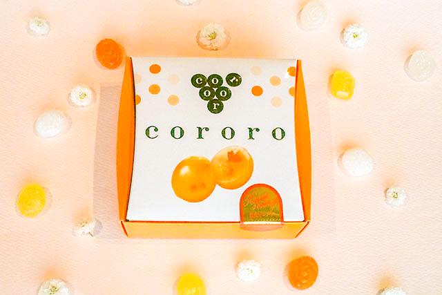 阪急限定「cororo」1箱8粒入り(2粒×4袋) 540円(税込)※写真は季節限定「清見オレンジ」フレーバー
