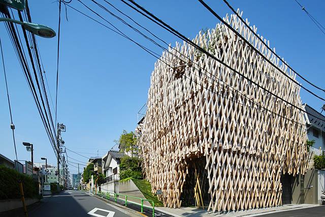 「SunnyHills at Minami-Aoyama」外観