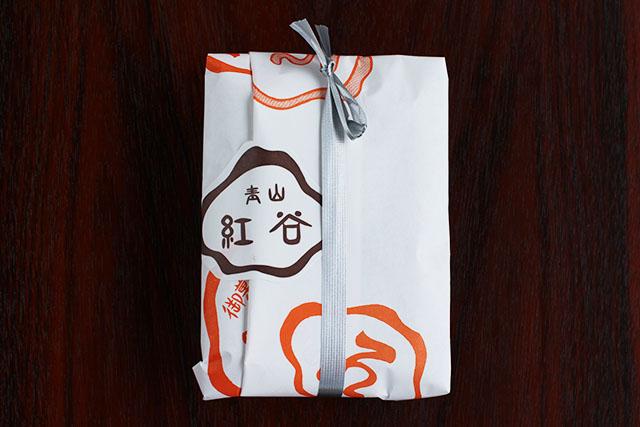 一個から紙袋に包んでくれます