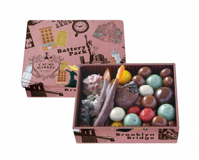 「チョコレートボール&フルーツディップアソート」2916円(税込)