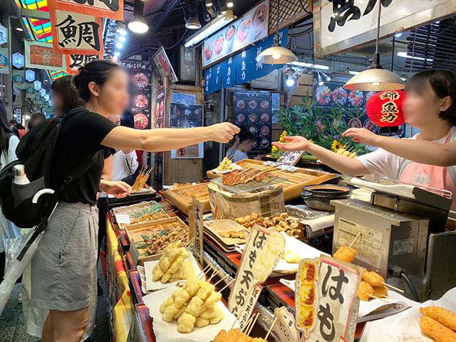 魚力 外国人観光客からも人気です