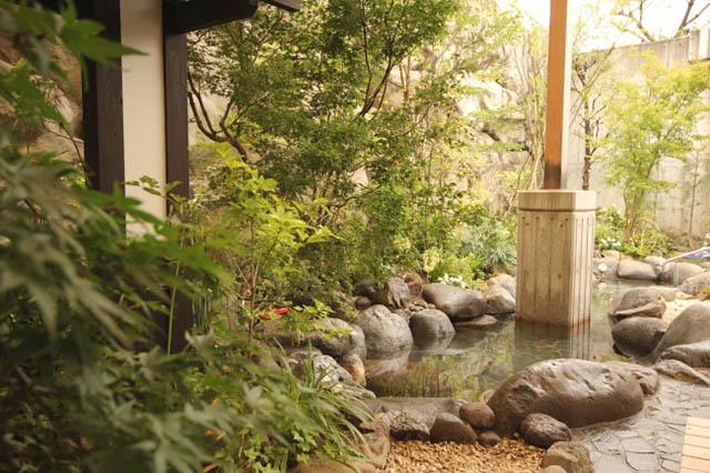 大江戸温泉物語 江戸の庭(女湯)