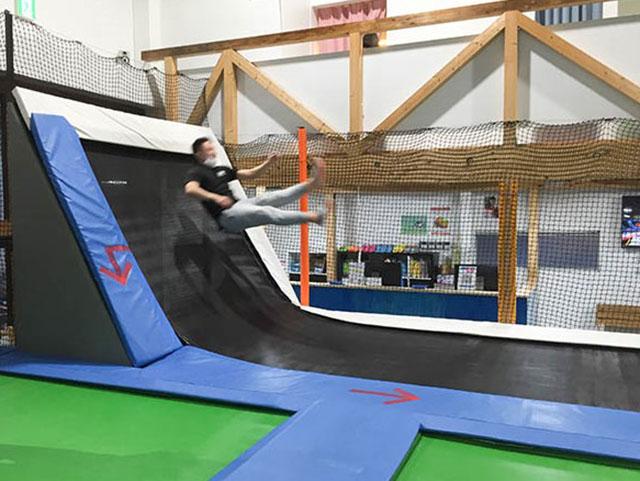 トランポランド おもいっきりジャンプジャンプ!