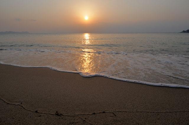 夕日が美しいことでも有名