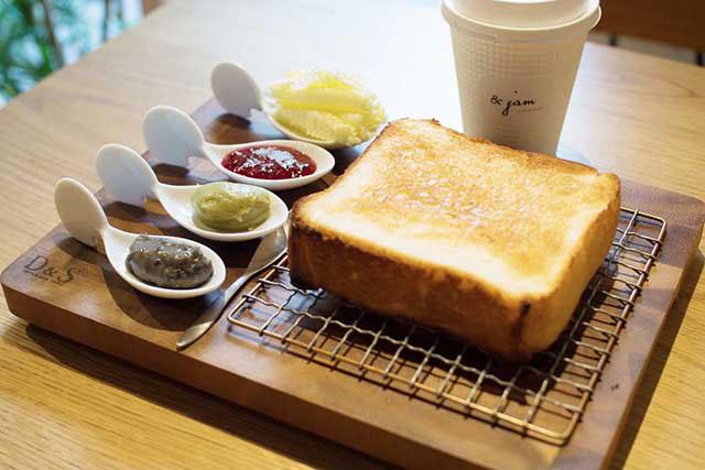 「極生 ミルクバター(牛奶奶油)」 +「3種果醬+北海道奶油」