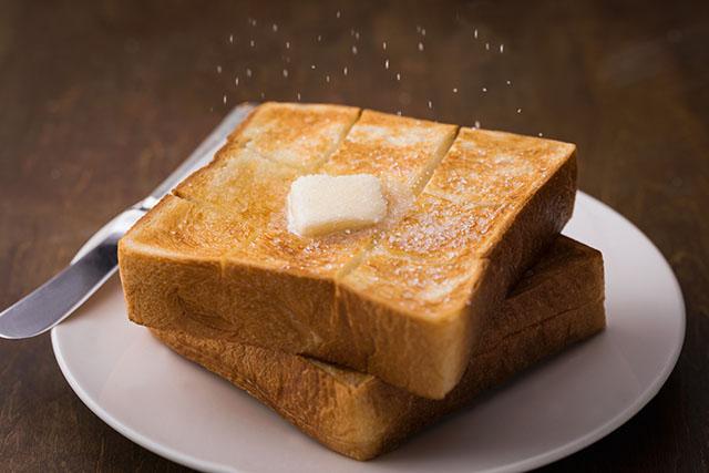 パン購入時にもらえる「クリスマス島の塩」がさらに美味しさを引き出します