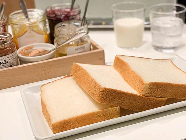 3種類の食パン食べ比べセット ジャムセット 1512円(税込)