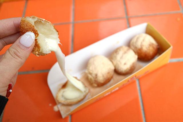 ソウル市場 「チーズボール」4個入350円(税込)