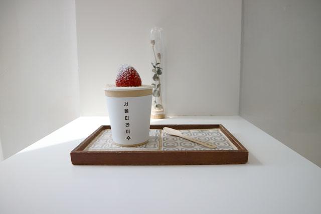 ソウルティラミス 「イチゴ」680円(税込)