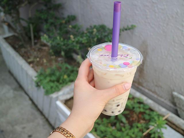 ほうじ茶ミルクティー+QQ レギュラー 507円(税込)