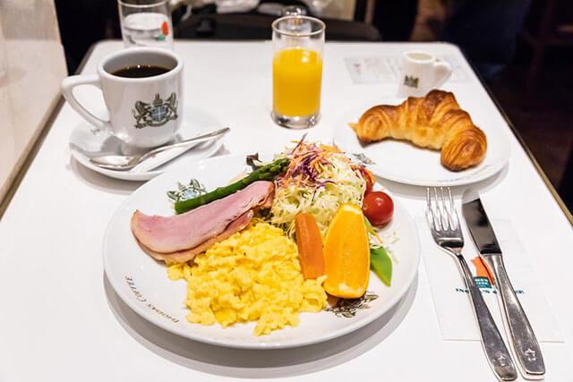 イノダコーヒ本店 「京の朝食」1480円(税込)