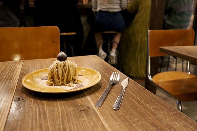 菓子工房 KYOTO KEIZO & Sweets Cafe KYOTO KEIZO 「和栗の10分モンブラン」880円(税込)