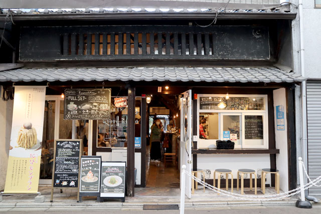 菓子工房 KYOTO KEIZO & Sweets Cafe KYOTO KEIZO 外観