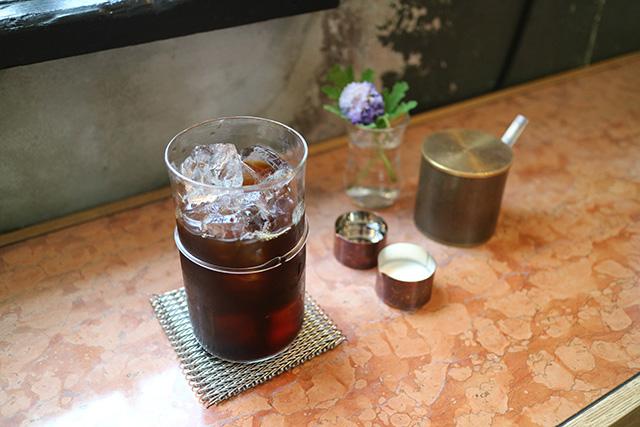 kaikado cafe 「アイスコーヒー[水出し]」820円(税込)