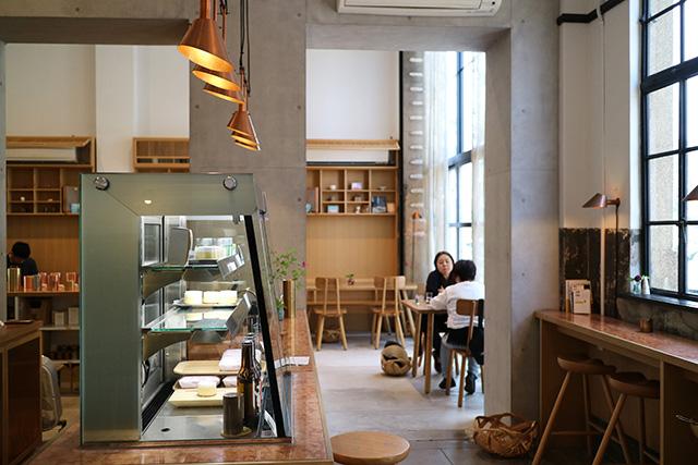 kaikado cafe(開化堂カフェ) 店内