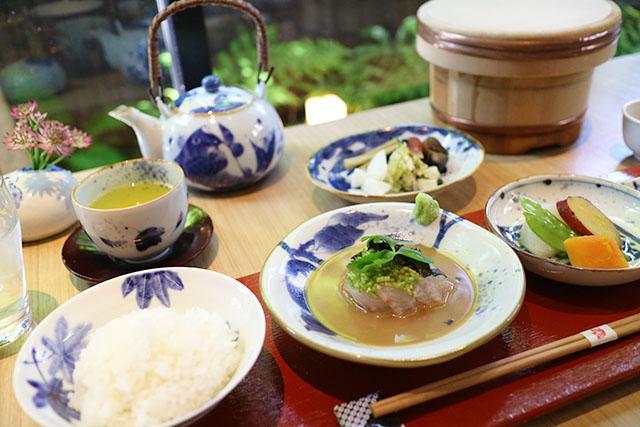 鯛匠HANANA 「鯛茶漬け御膳」2750円(税込)