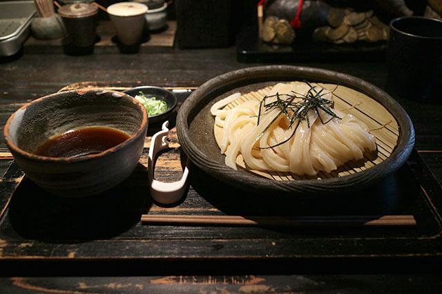山本麺蔵 「ざるうどん」650円